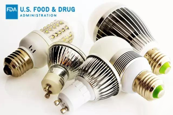 Clarify the indications for FDA certification requirements for LED lighting products entering the US market